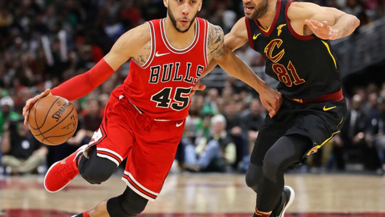 Bulls' Denzel Valentine to have ankle surgery, likely miss season