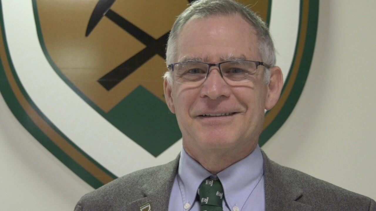 Montana Tech Provost Steve Gammon