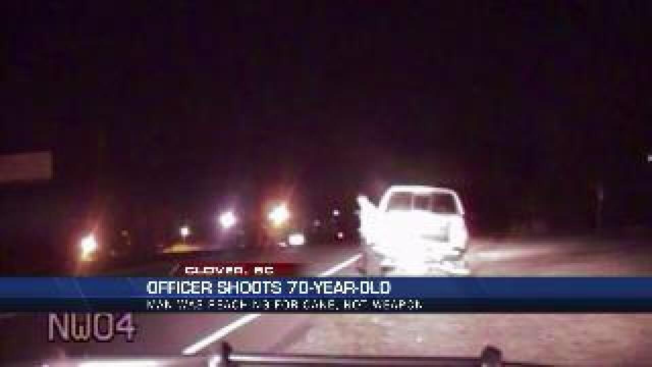 DASHCAM VIDEO: Officer mistakenly shoots 70-year-old man, then cries