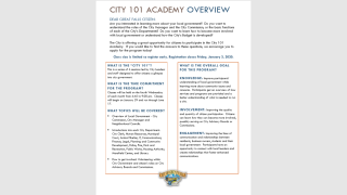 """""""City 101 Academy"""" aims to explain how Great Falls works"""