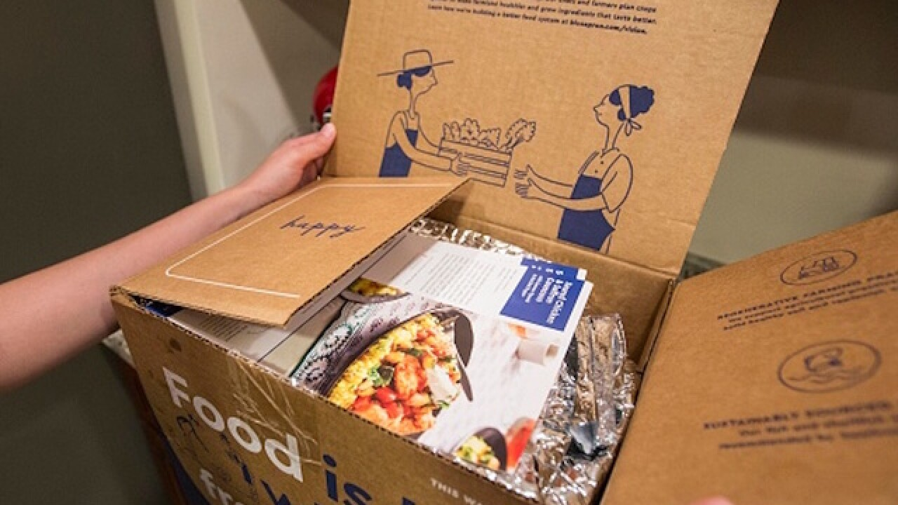 Blue Apron plans to bring its meal kits in stores
