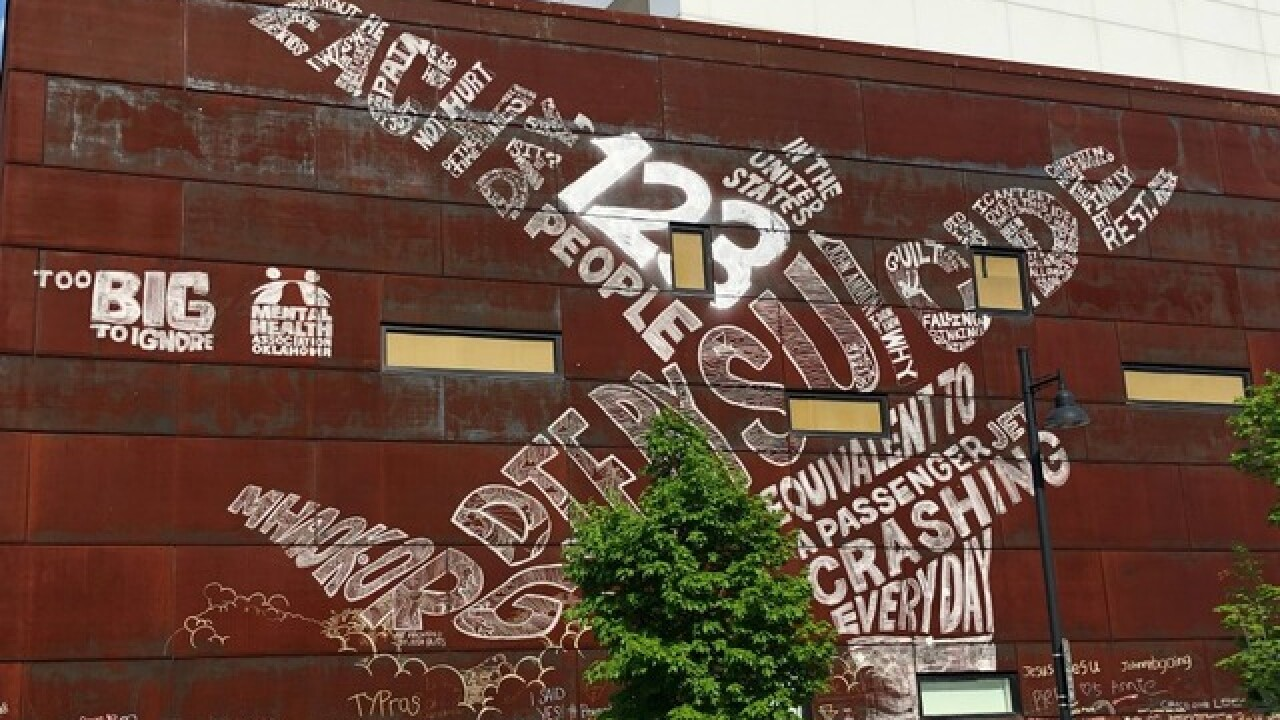 Museum-sized suicide prevention mural unveiled