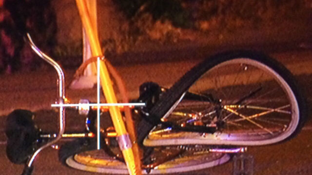 Bicyclist struck by hit-and-run driver