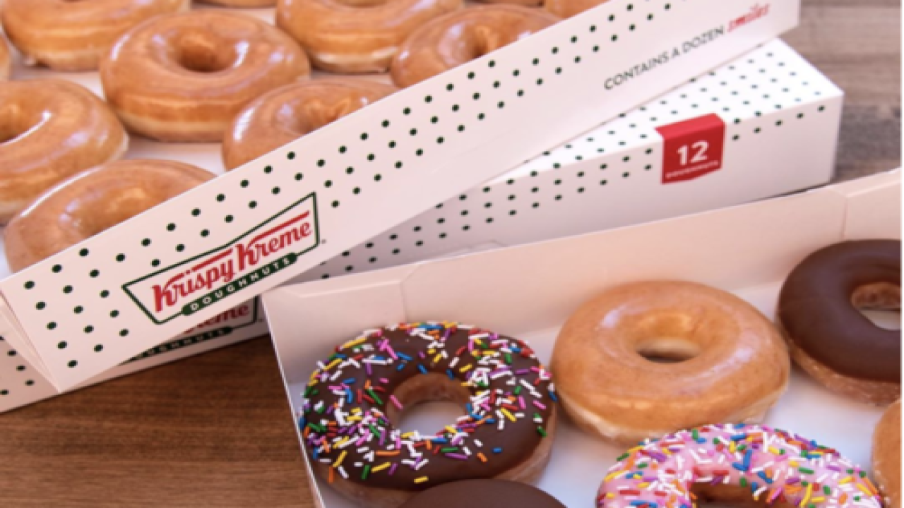 Healthcare Workers Can Get A Dozen Free Doughnuts From Krispy Kreme Every Monday