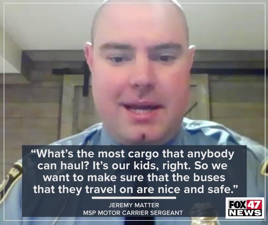 Motor Carrier Sgt Jeremy Matter