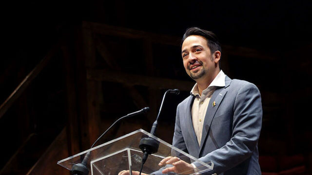 'Hamilton' star Lin-Manuel Miranda to be dad for second time
