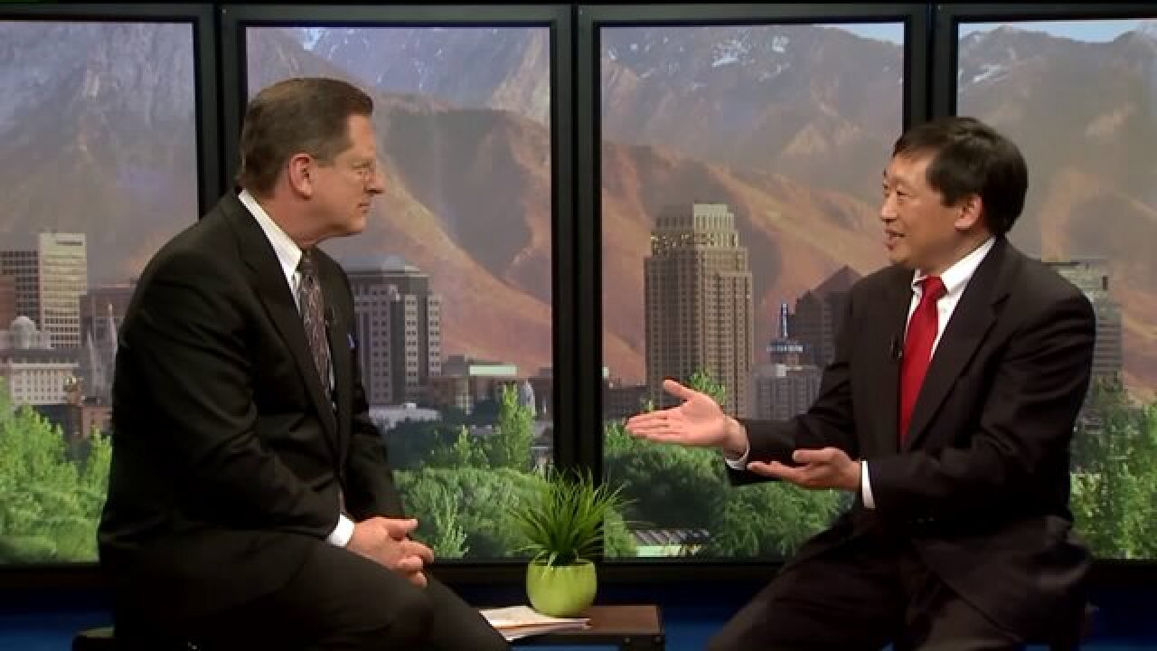 3 Questions with Bob Evans: Chia-Chi Teng discusses his race against Rep. Chaffetz