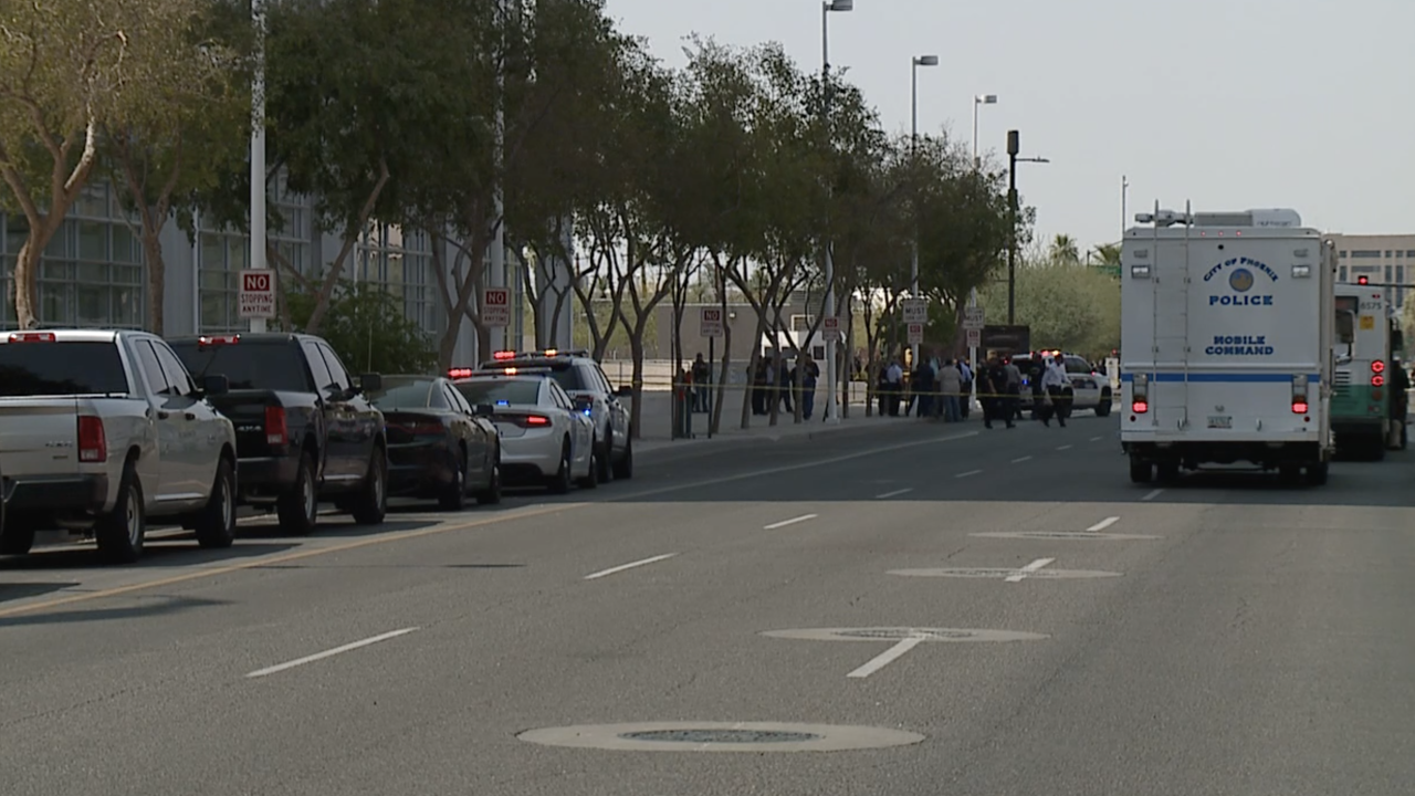 Shooting outside federal courthouse in Phoenix