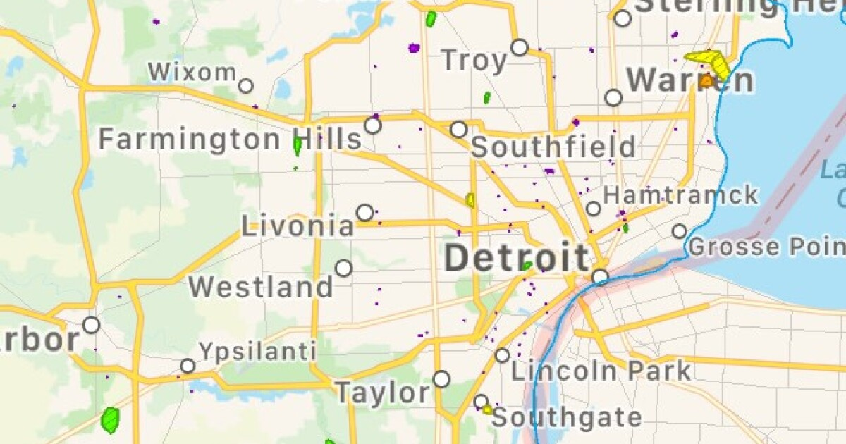 DTE: 10,000 without power across metro Detroit