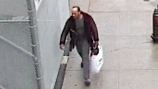Man wanted for allegedly punching, robbing 71-year-old man in Harlem