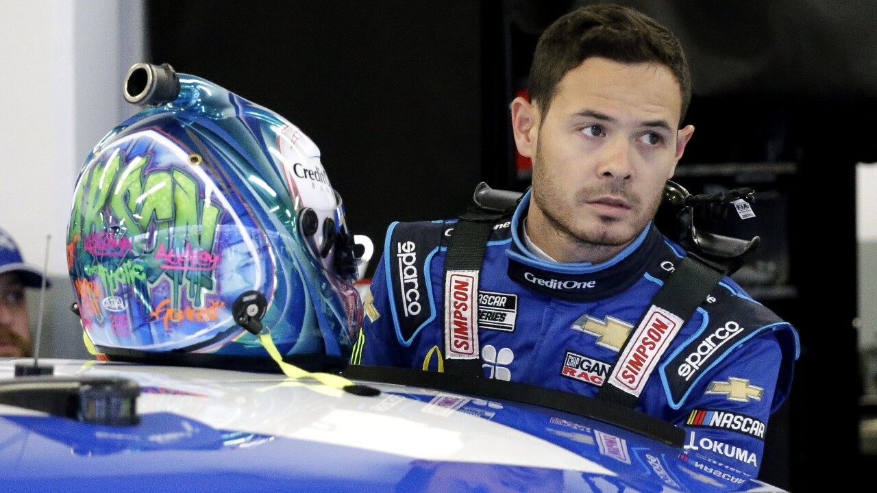 NASCAR driver Kyle Larson suspended indefinitely for using N-word in virtual race