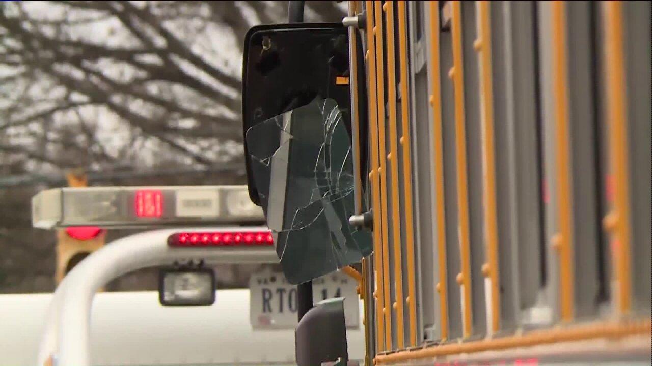 Chesterfield school bus involved incrash