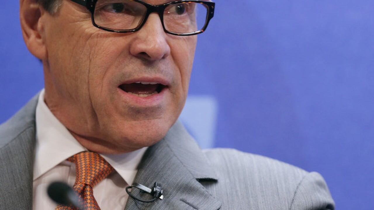 Rick Perry to be next Secretary of Energy