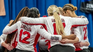 Sun Belt Tournament 2020 Cajuns Volleyball