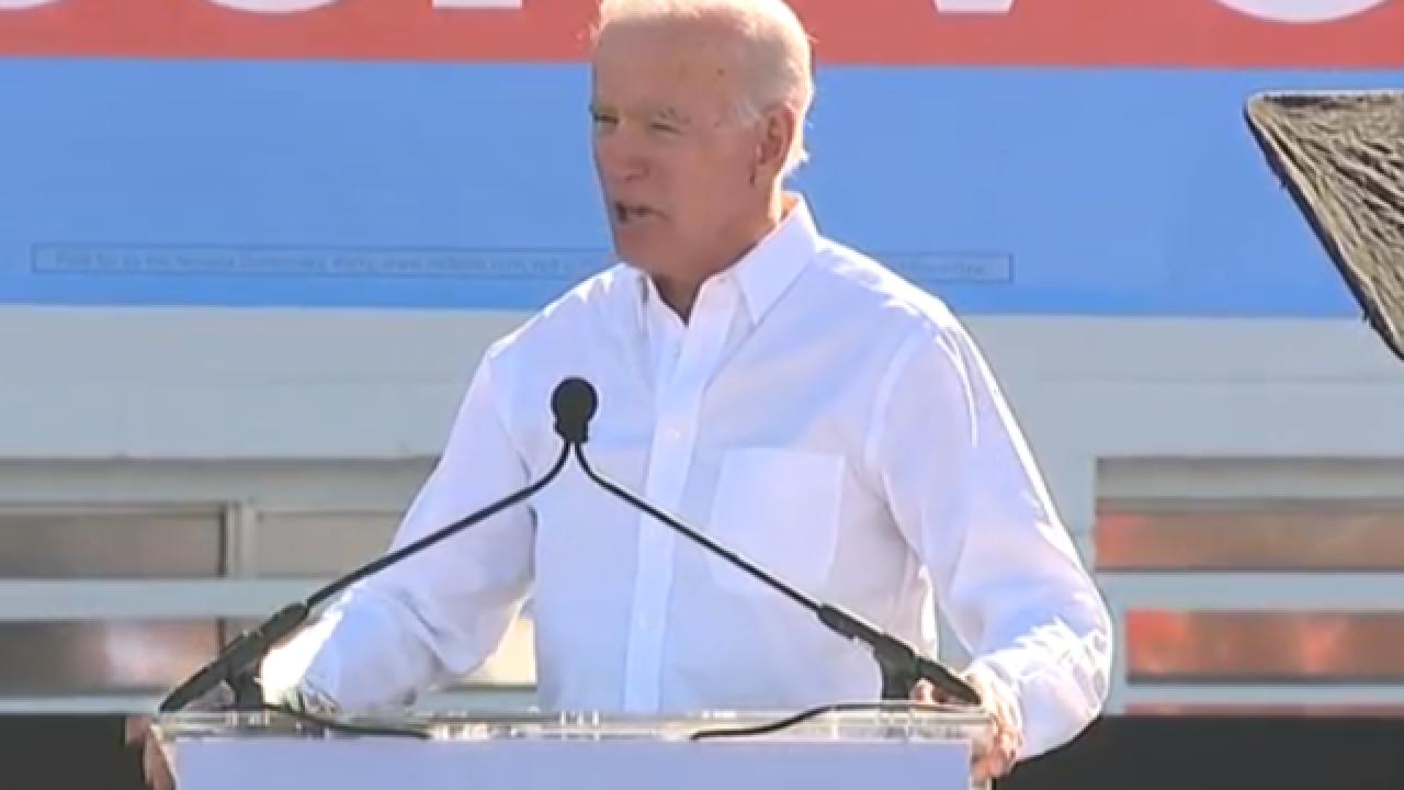 Joe Biden headlines 'vote early' rally in Vegas