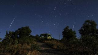 Thursday meteor shower could produce 400 shooting stars an hour