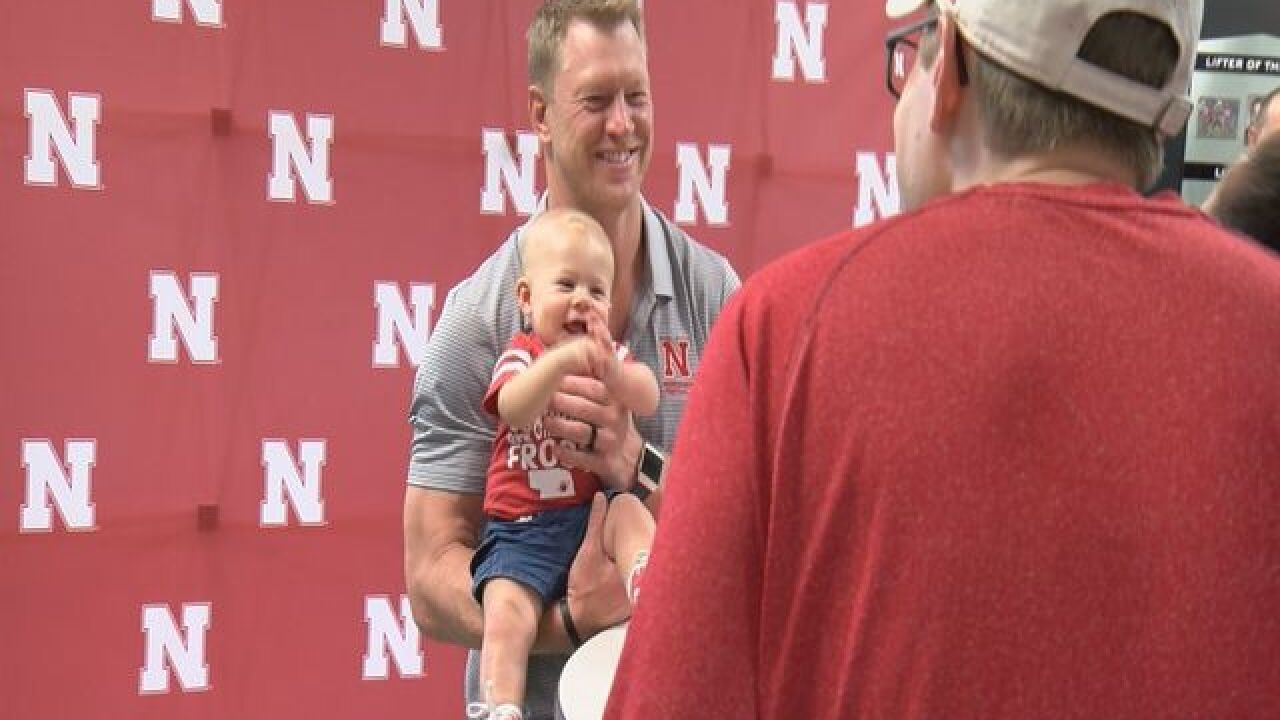Huskers Fan Day: Scott Frost's line and more