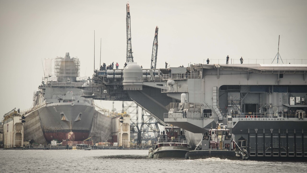 Navy ships spent 33,700 extra days in maintenance than expected over 5 year period, watchdogsays