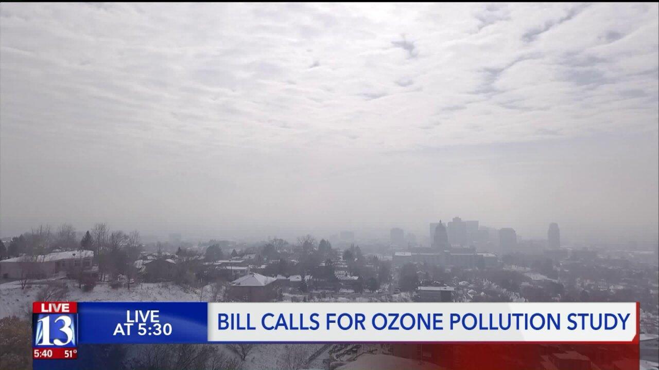 Rep. McAdams introduces bill to study ozonepollution