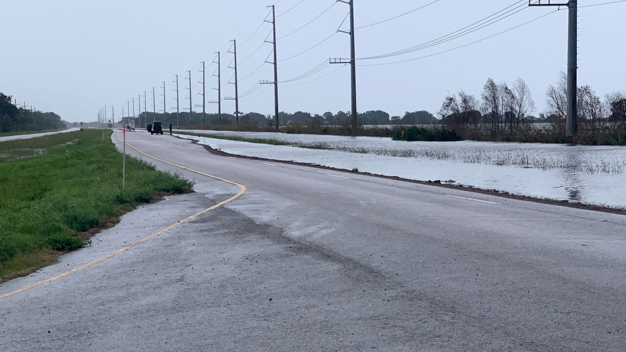 Barry has calmed, but officials warn residents to not let their guard down