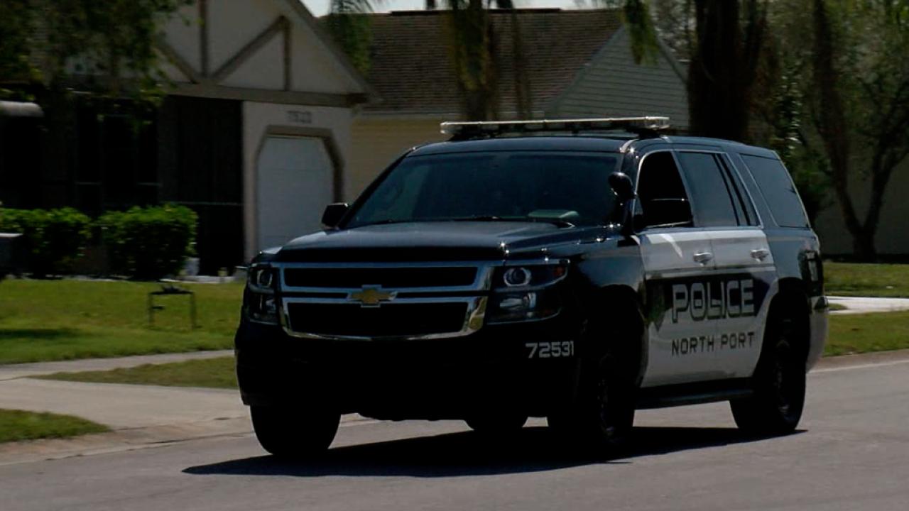 North Port police SUV