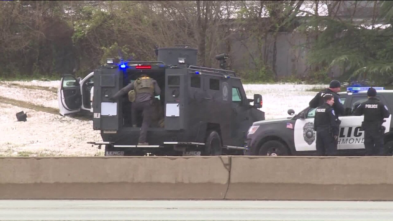 Man who shutdown I-95 wanted 'suicide bycop'