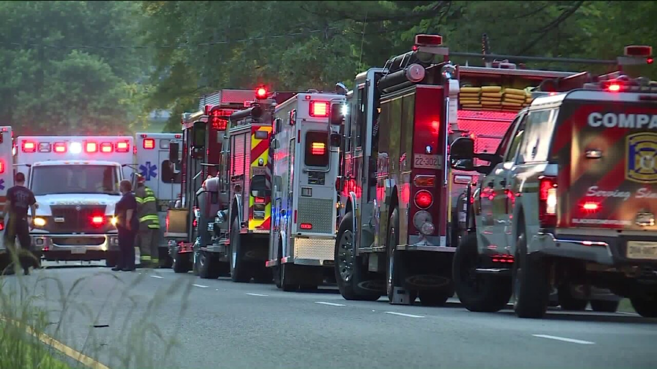 4 church members killed in Virginia church vancrash