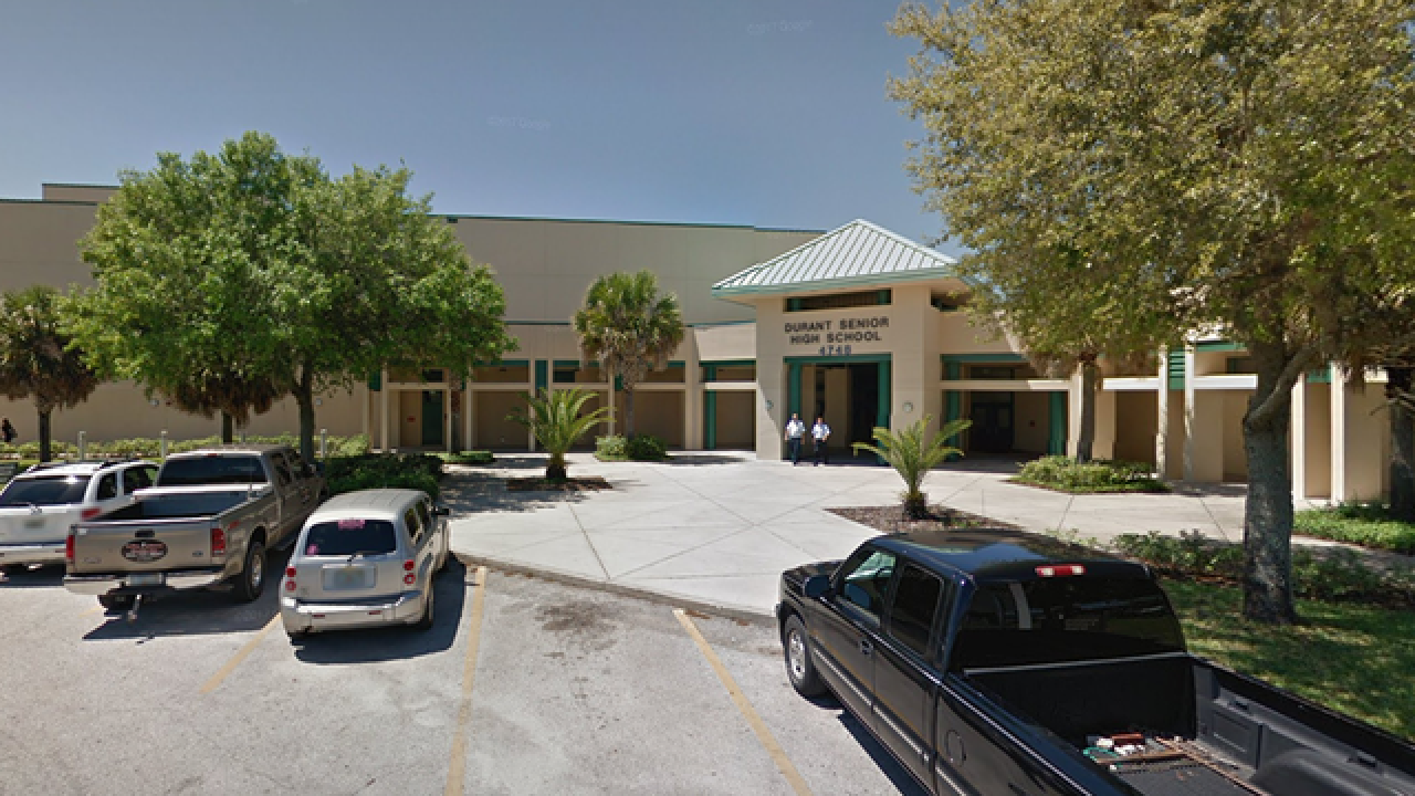 Durant High School student arrested after making false report of gun on campus