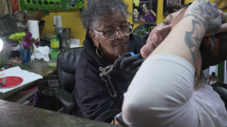 After decades of discrimination, America's first black female tattoo artist opens up