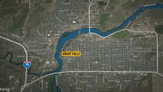 GREAT FALLS MAP