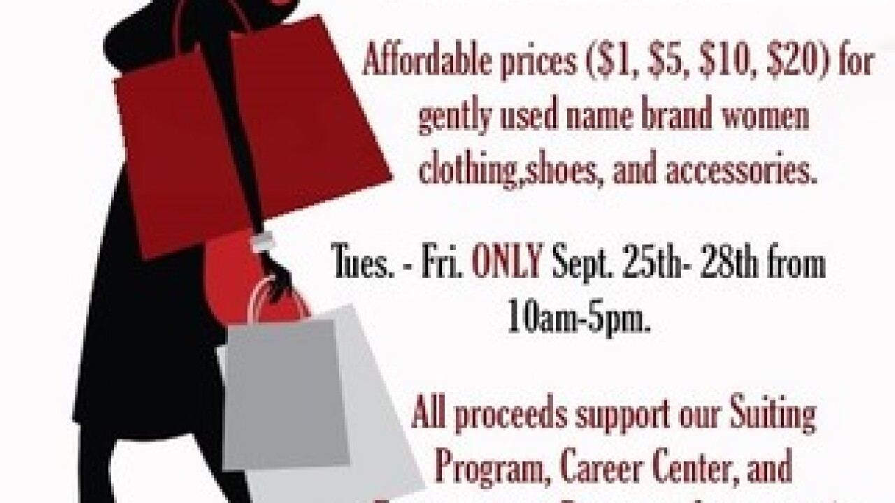 Dress for Success Bakersfield holding Fall Clearance Sale