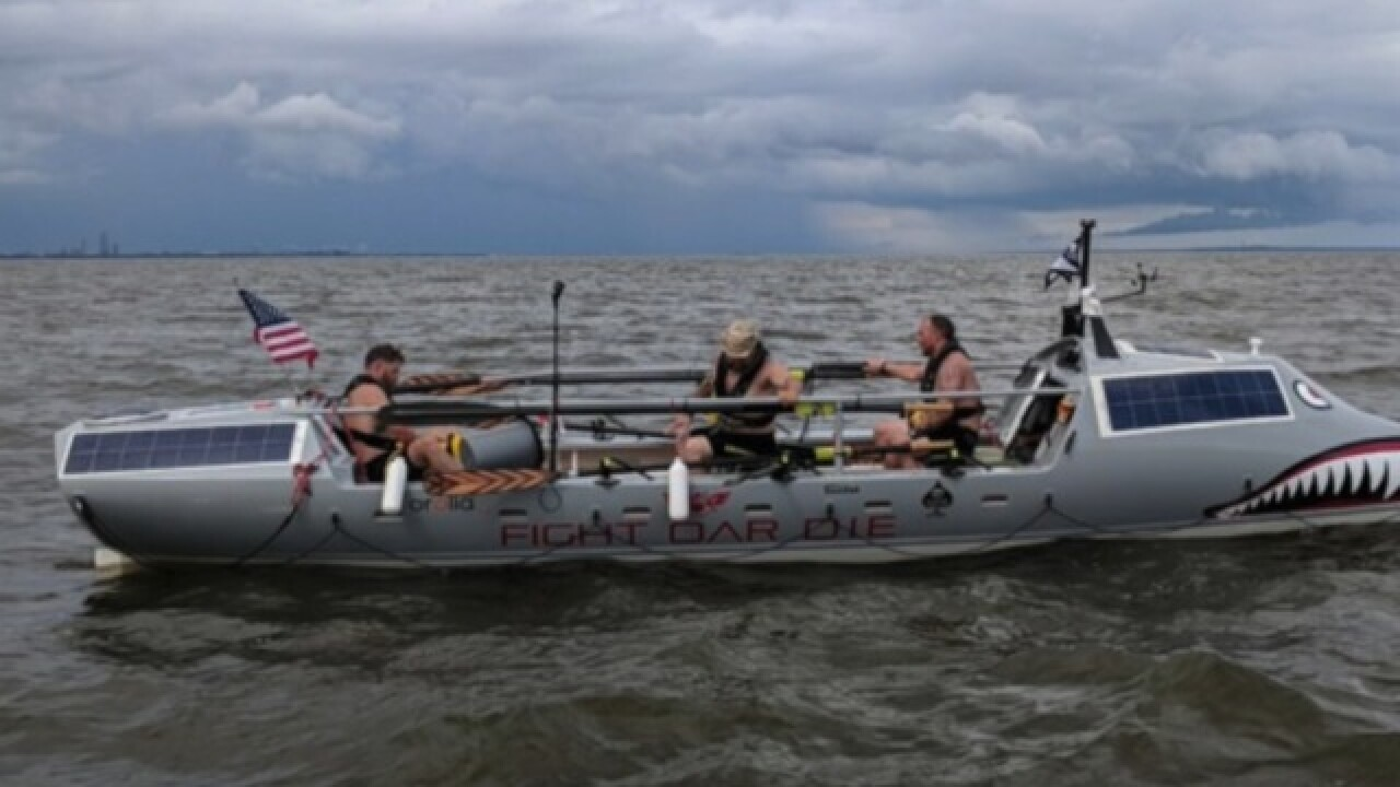 Team of veterans to race across Atlantic Ocean to bring awareness to mental health