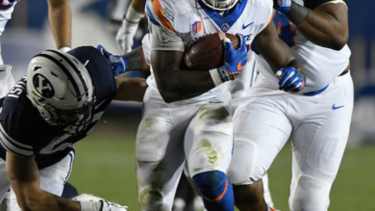 Mattison's career-high 118 yards leads Boise St by BYU 24-7