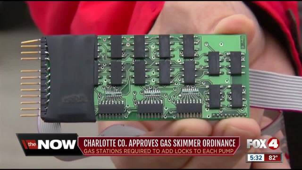 Charlotte County approves gas skimmer ordinance