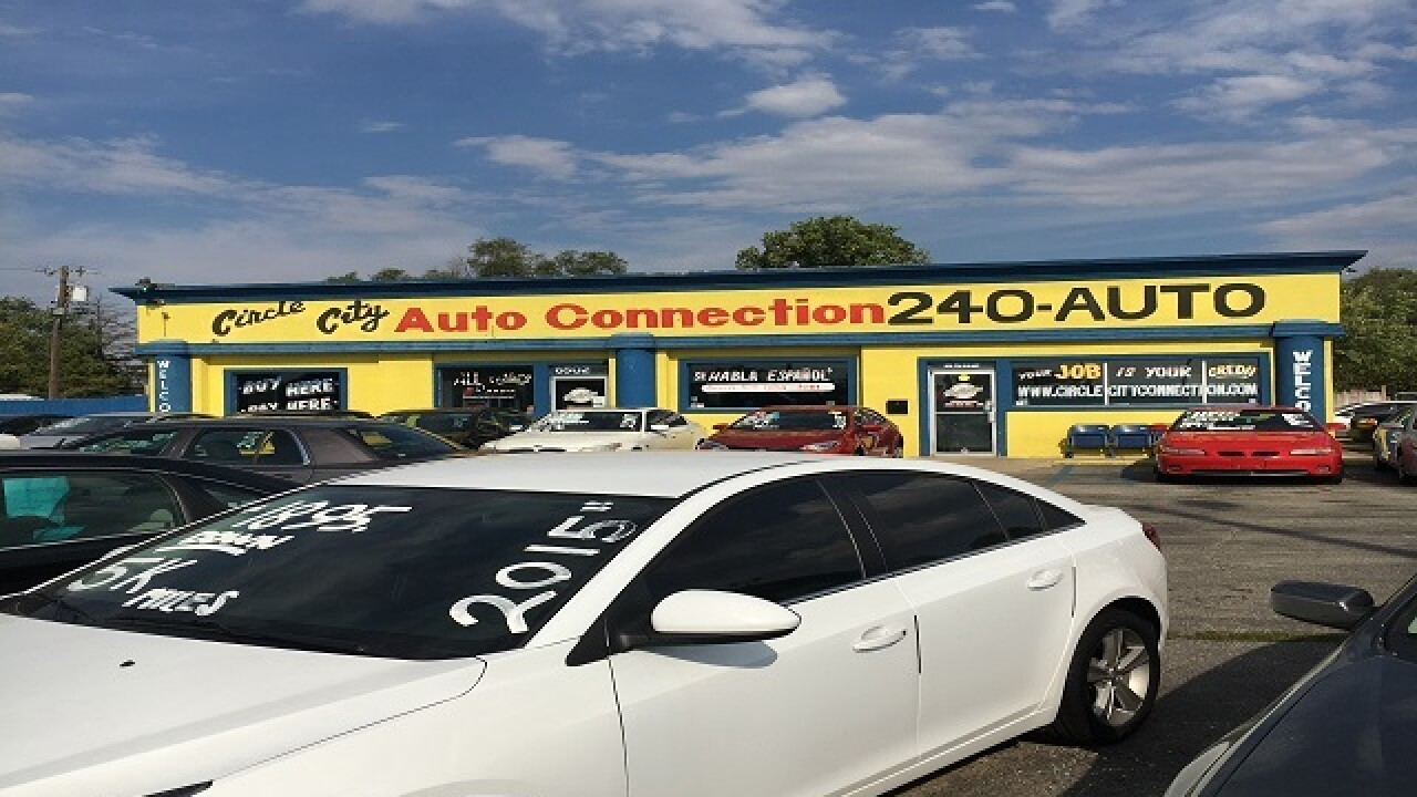 CALL 6: Raid underway at car dealership