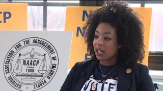 Cleveland NAACP President Danielle Sydnor