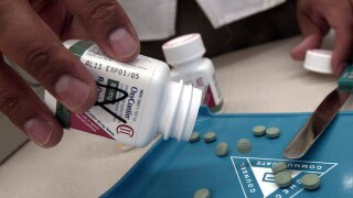 Purdue Pharma won't use sales reps to push OxyContin