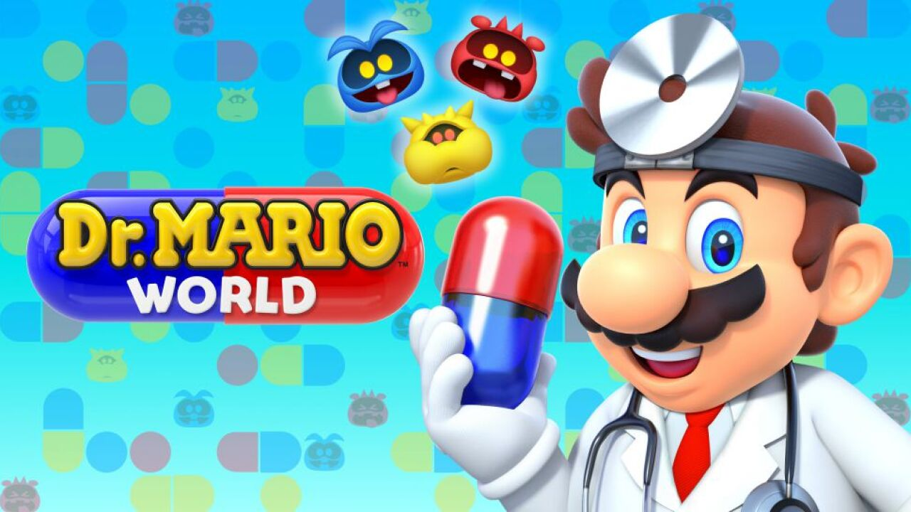 Nintendo is launching 'Dr. Mario World,' a new mobile game
