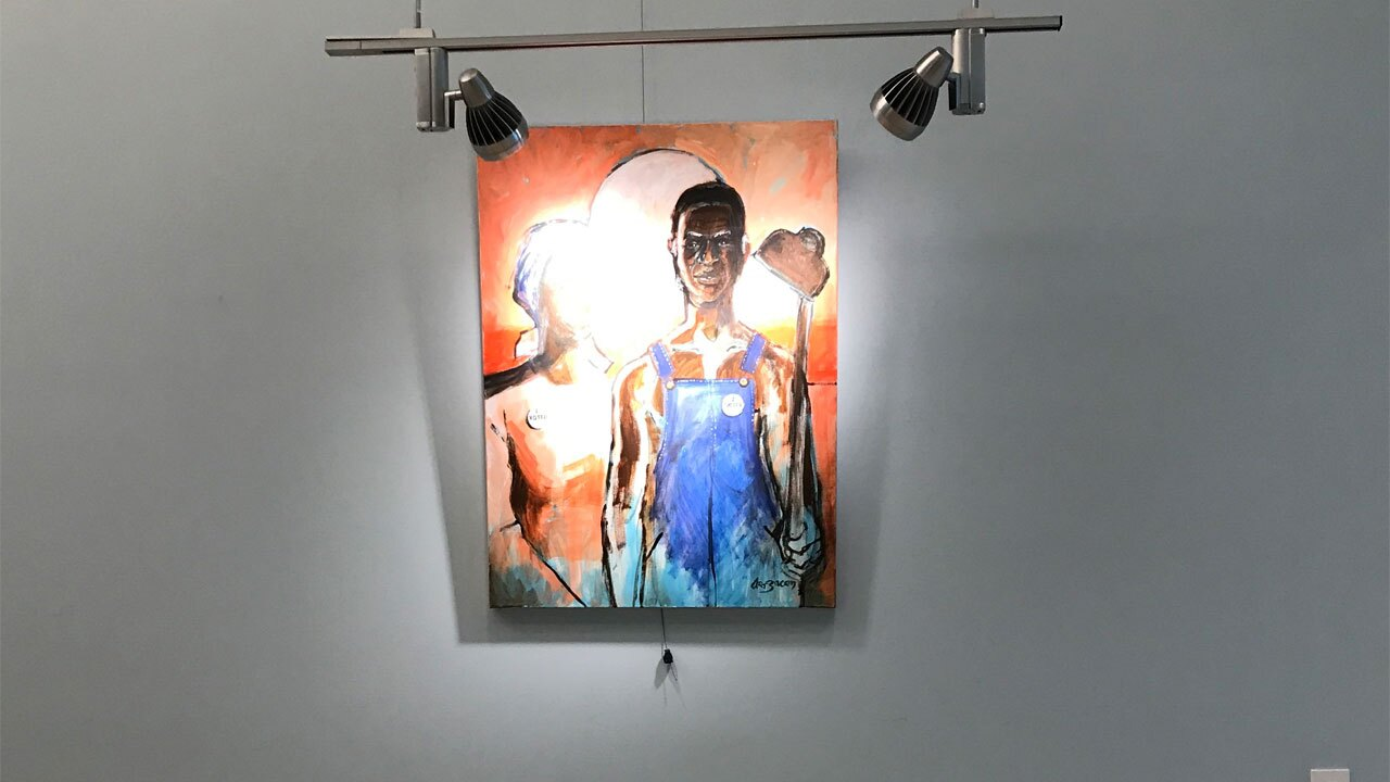 Civil Rights Reflected in Art and Culture art work