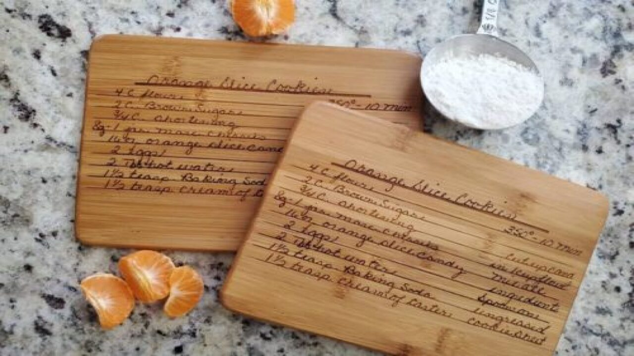 You Can Get Your Handwritten Family Recipes Made Into Keepsakes