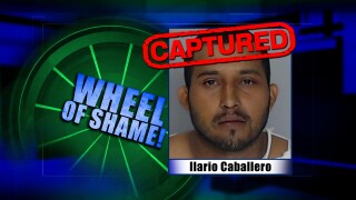 Wheel Of Shame Arrest: Ilario Caballero