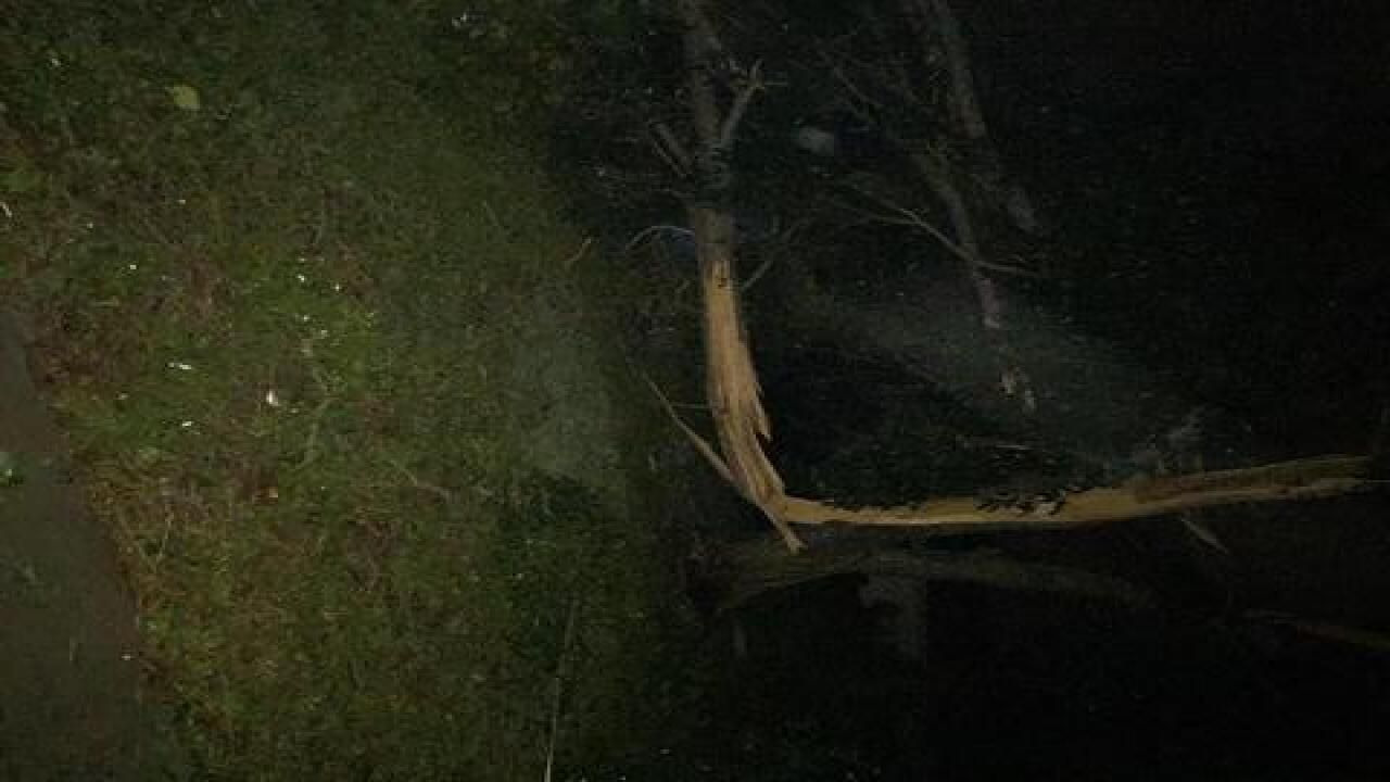 Tornado touch down in Cape Coral
