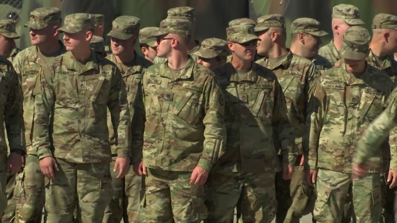 1063rd Maintenance Company is deploying to Southwest Asia