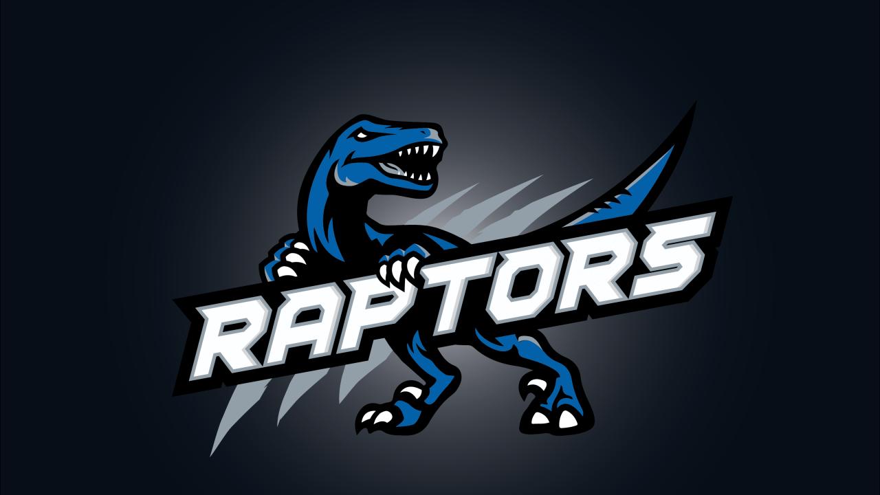 Roblox Logo 1280720 Transprent Png Free Download Red Raptors Logo Png