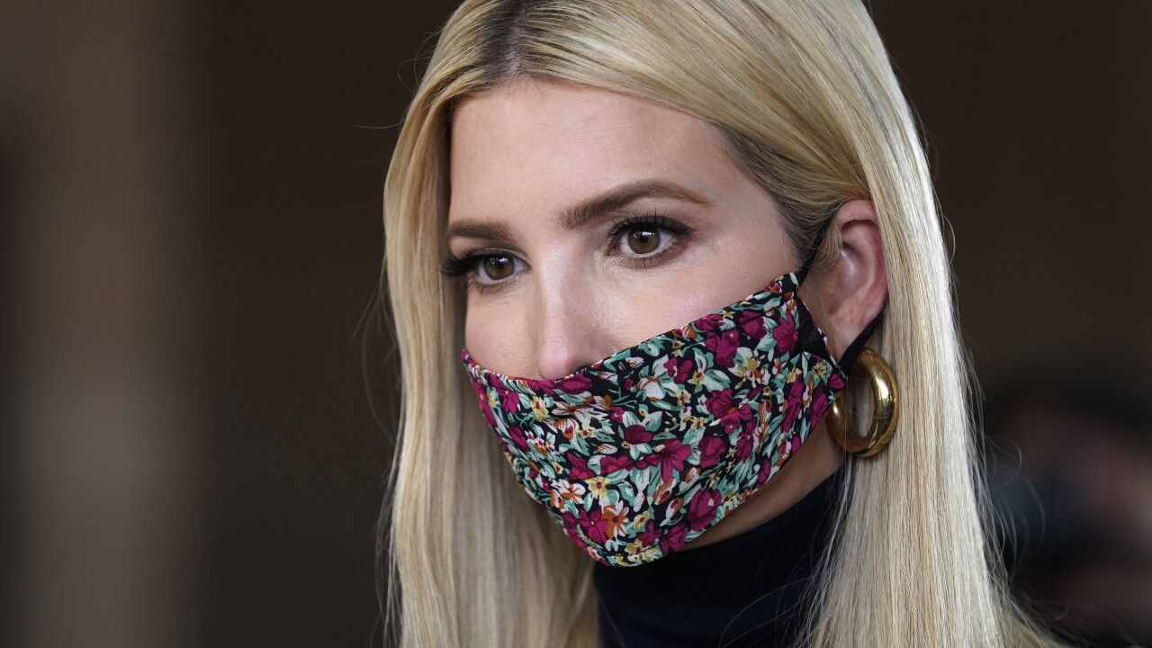 Ivanka Trump to visit Phoenix for roundtable with Governor Doug Ducey