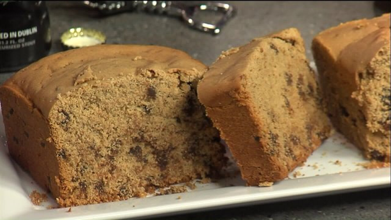 Try your luck with this Traditional Irish Guinness PorterCake