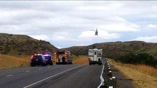 Multiple vehicle crash on Interstate 90