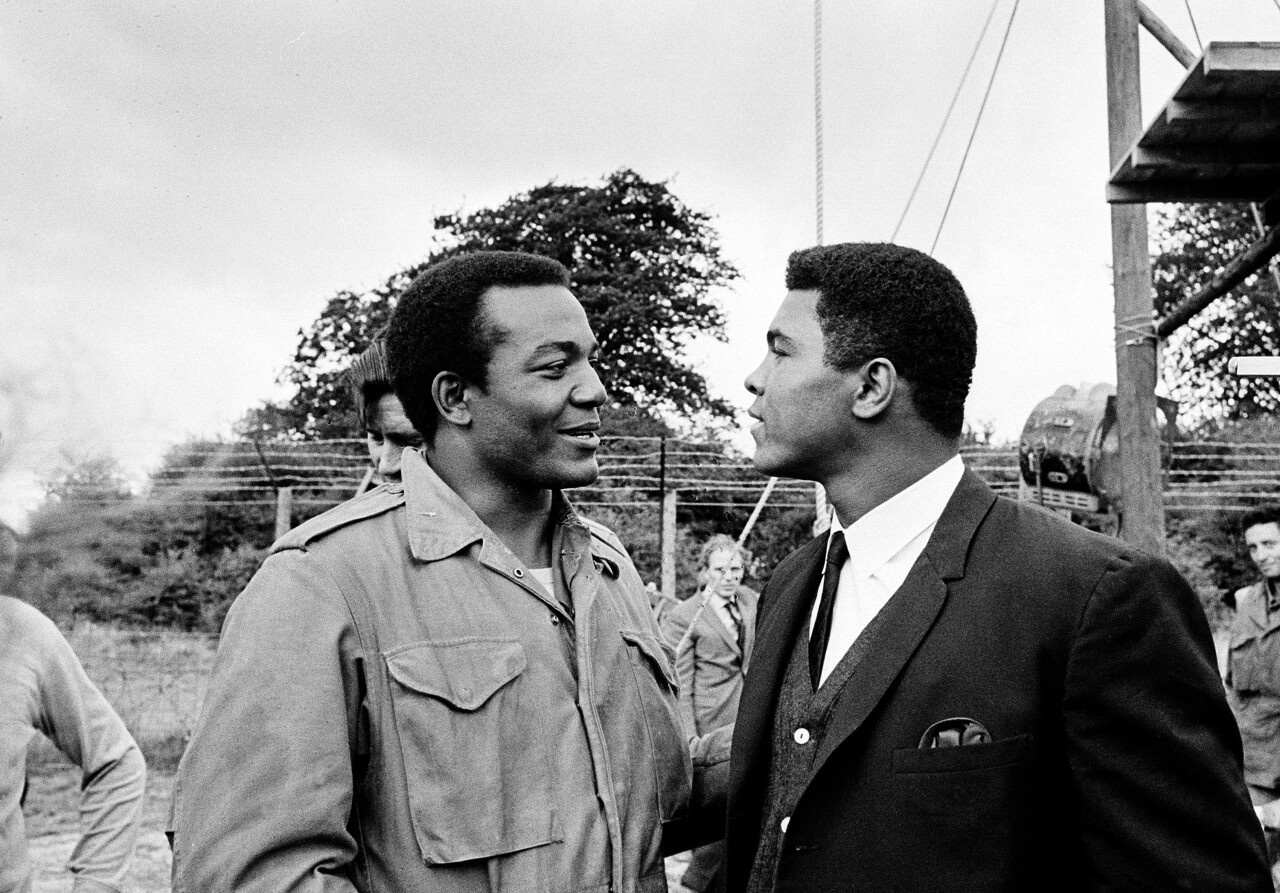 Jim Brown and Muhammad Ali Courtesy: Associated Press