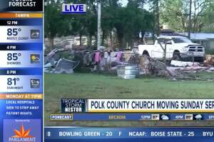 Clean-up begins: EF-2 tornado with 120 mph winds confirmed in Polk County, severe damage left behind