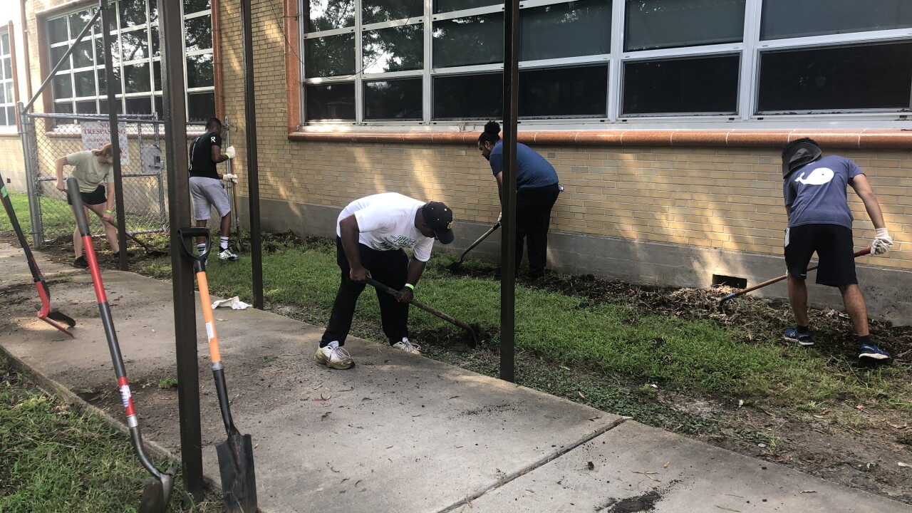 A Norfolk elementary school gets a makeover thanks to three localgroups